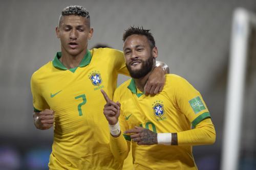 Neymar Jr jadi bagian penting Timnas Brasil (Foto: Twitter/@CBF_Futebol)