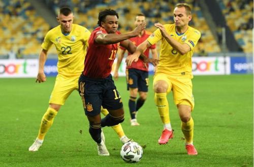 Ukraina vs Spanyol