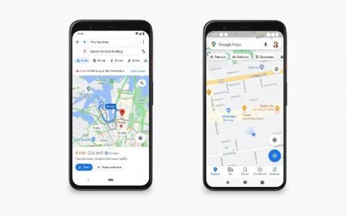 Google Maps. (Foto: Phone Arena)