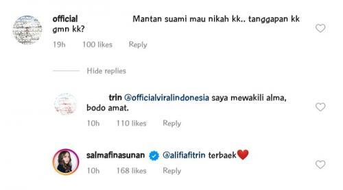 Salmafina Sunan. (Foto: Instagram/@salmafinasunan)