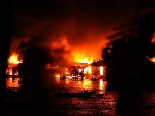 Kebakaran Jayapura