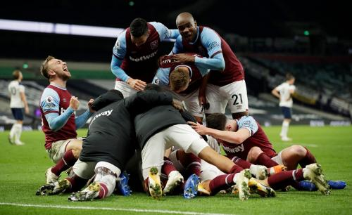 West Ham United samakan skor di menit injury time (Foto: Premier League)