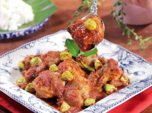 Ayam Balado Petai