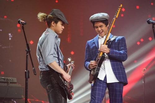 The Lucky Laki dalam Mega Konser Dewa 19. (Foto: Instagram/@officialrcti)