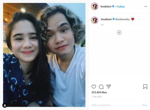 Dul Jaelani dan Tissa Biani