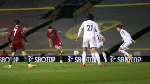Gol Raul Jimenez menjadi pembeda dua kesebelasan (Foto: Premier League)