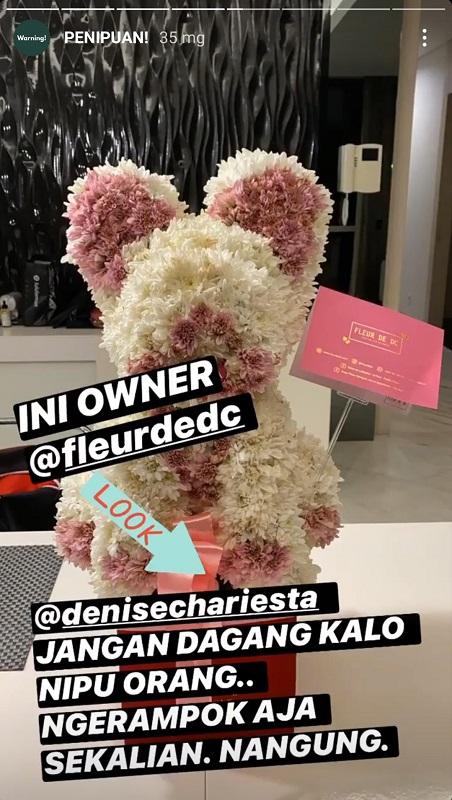 Denise Chariesta. (Foto: Instagram/@karbearv)