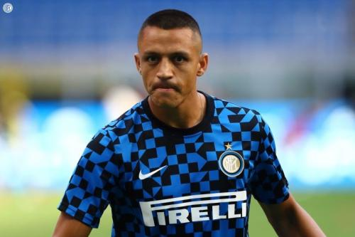 Alexis Sanchez berlatih bersama Inter Milan