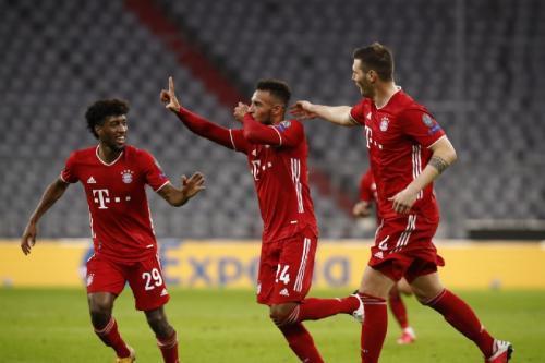 Suasana laga Bayern vs Atletico