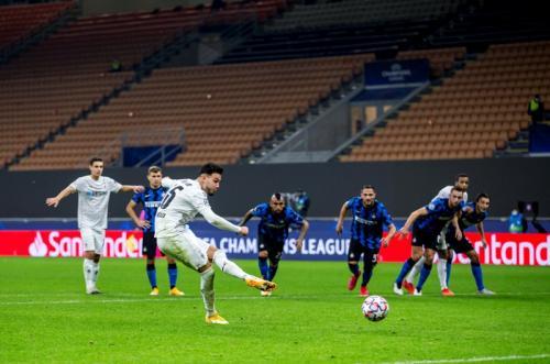 Borussia Monchengladbach diimbangi Inter Milan (Foto: Twitter/@borussia_en)