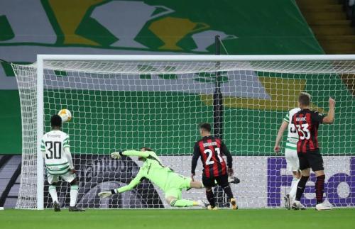 Glasgow Celtic tumbang 1-3 dari AC Milan di pekan pertama (Foto: UEFA)