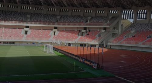 Stadion Lukas Enembe (Foto: Okezone/Herawati)