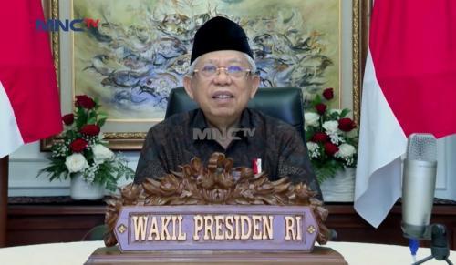 Maaruf Amin, Wakil Presiden Indonesia. (Foto: MNCTV)