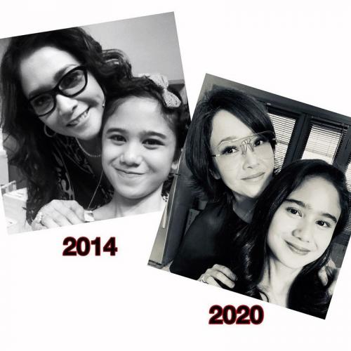 Tissa Biani dan Maia Estianty. (Foto: Instagram/@maiaestiantyreal)
