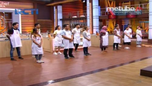 Kontestan MasterChef Indonesia Season 7. (Foto: MeTube RCTI)