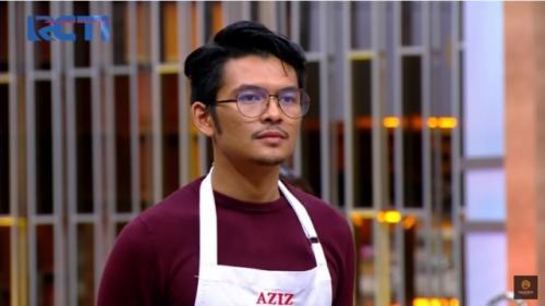 Aziz MasterChef Indonesia Season 7. (Foto: YouTube MasterChef Indonesia)