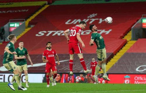 Liverpool vs Sheffield United