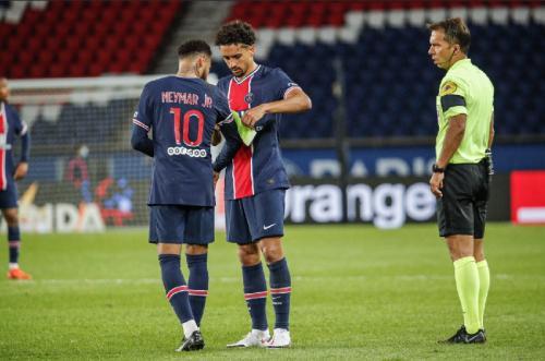 Neymar dan Marquinhos