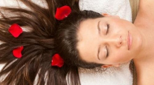 Ilustrasi hair spa