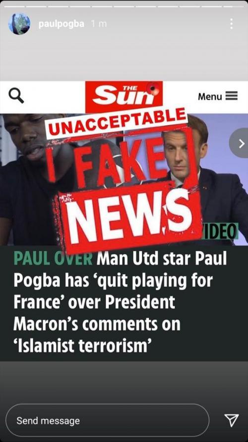 Paul Pogba (Foto: Instagram/@paulpogba)