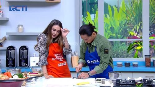 Chef Juna dan Luna Maya