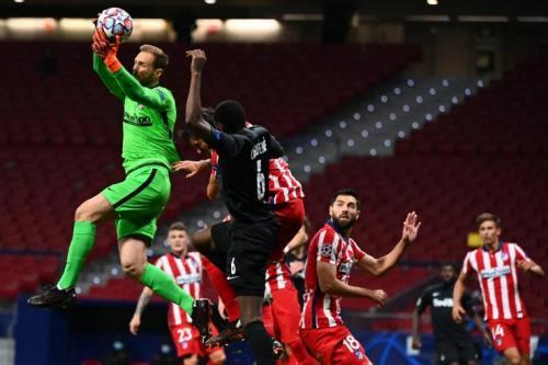 FC Salzburg saat melawan Atletico Madrid