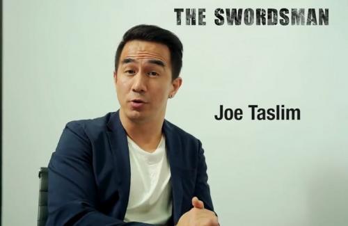 Joe Taslim di The Swordsman