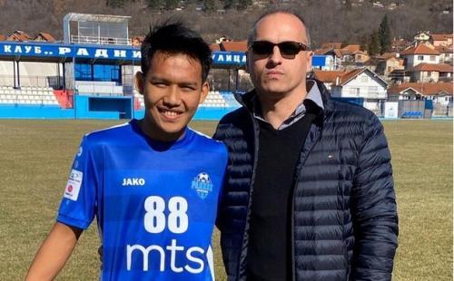 Witan Sulaeman bermain di Serbia