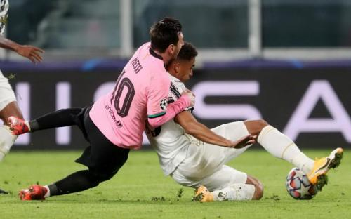 Laga Juventus vs Barcelona
