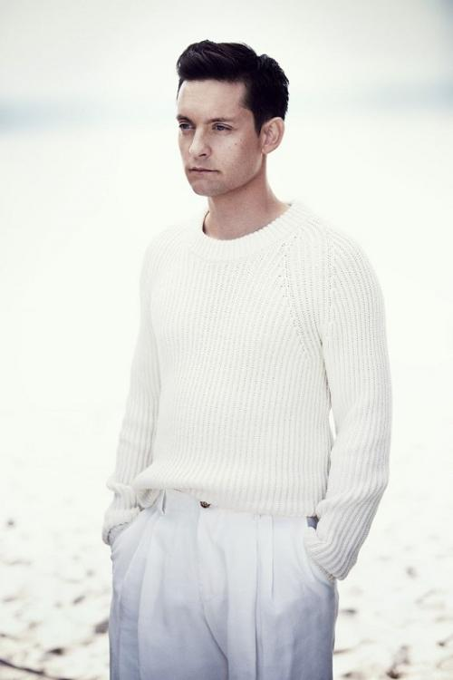 Tobey Maguire. (Foto: W Magazine)