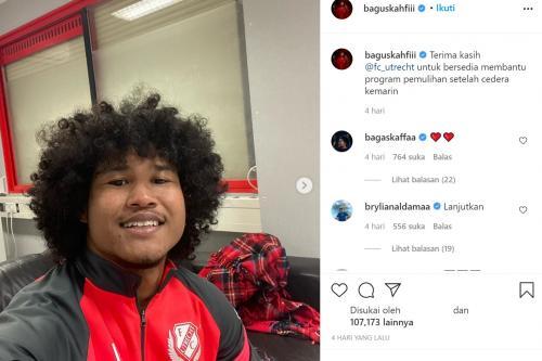 Bagus Kahfi diisukan telah gabung FC Utrecht