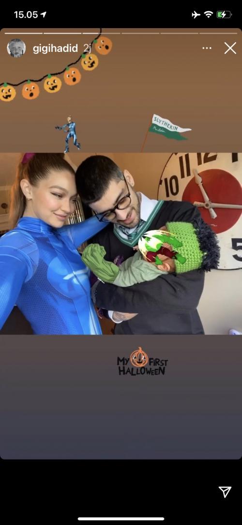 Gigi Hadid dan Zayn Malik