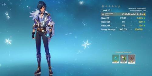 Karakter Kaeya di game Genshin Impact. (Foto: Screenrant)