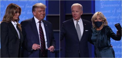 Adu Gaya Melania Trump Vs Jill Biden