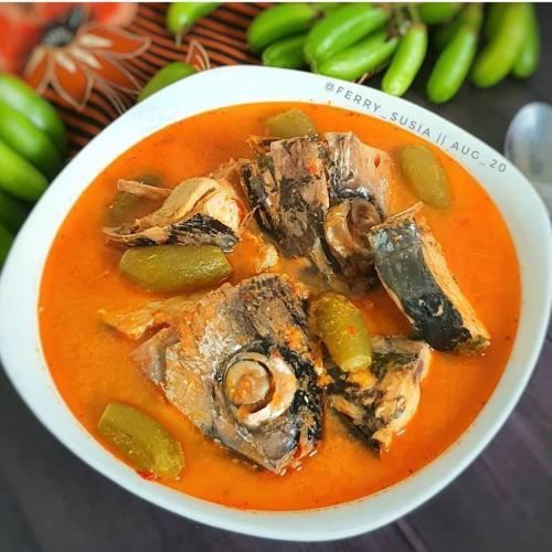 Asam Pedas Ikan Tuna