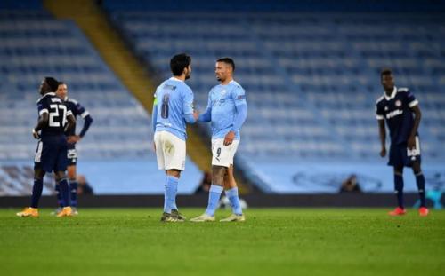 Manchester City vs Olympiakos