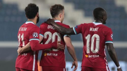 Mohamed Salah, Diogo Jota, dan Sadio Mane (Foto: Reuters)