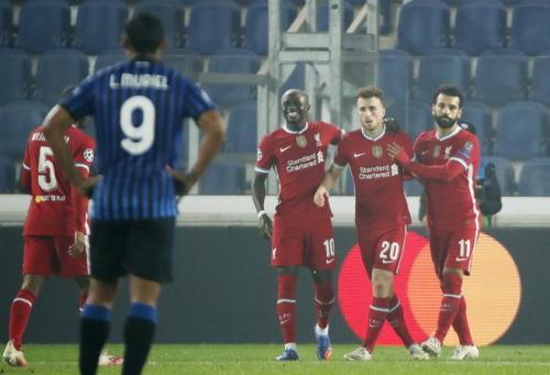 Diogo Jota, Sadio Mane, dan Mohamed Salah