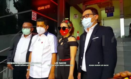 Lee Sachi dan kuasa hukum. (Foto: Starpro Indonesia)