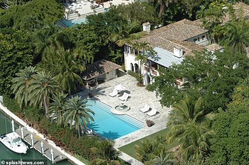 Rumah mewah Phil Collins di Miami, Florida, AS. (Foto: Splash News)