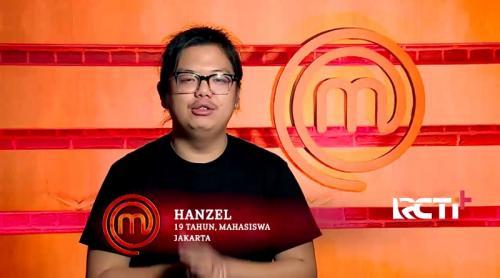 Hanzel MasterChef Indonesia