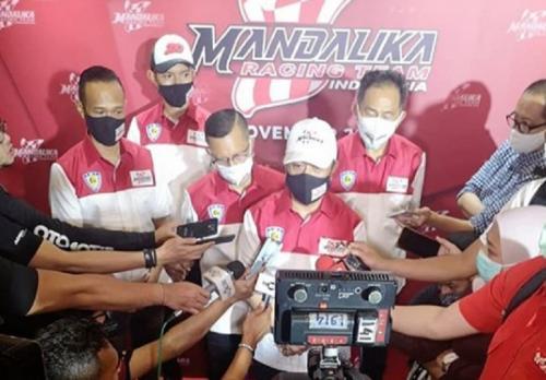 Peluncuran Mandalika Racing Team Indonesia (Foto: IG/@mandalikaracingteam)