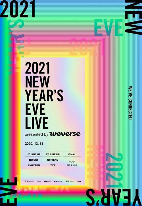 2021 New Year's Eve Live. (Foto: Big Hit)