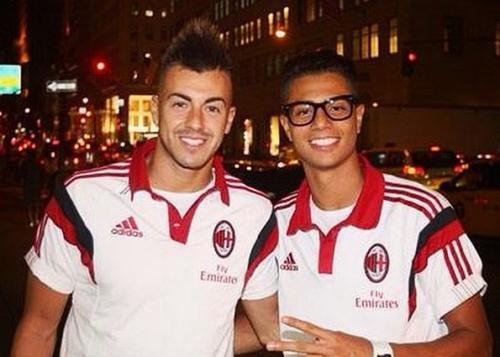 Stephan El Shaarawy dan Hachim Mastour