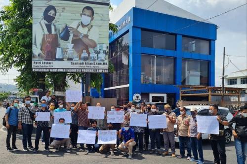 Wali Kota Bandar Lampung dipolisikan