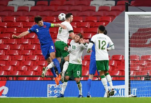 Inggris vs Irlandia (Foto: Reuters/Ben Stansall)