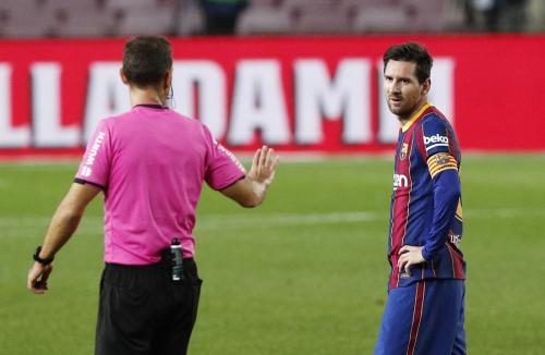 Lionel Messi (Foto: Reuters/Albert Gea)