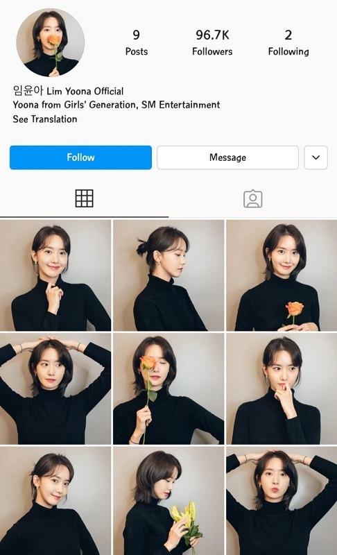Yoona SNSD. (Foto: Instagram/@limyoona_official)