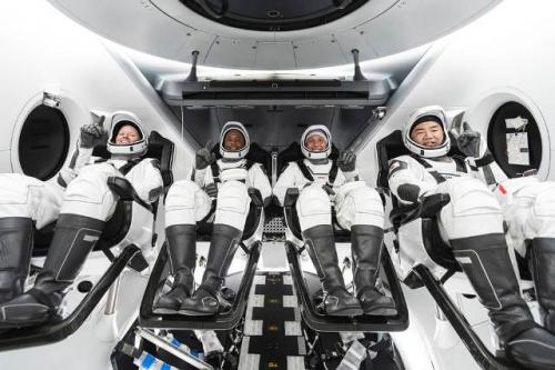 Astronaut Misi Crew-1. (SpaceX/NASA)