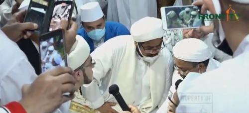 Pernikahan putri Habib Rizieq